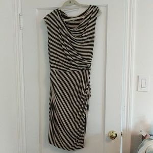 Anthropologie striped jersey dress